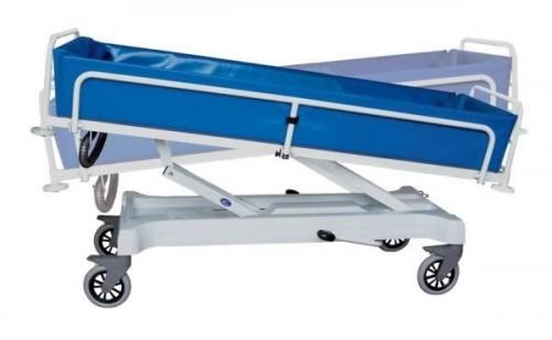 Wózek transportowo kąpielowy z regul. hydraulicz. wysokości (wózek wanna do kąpieli) C 213