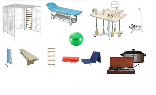 Sprzęt rehabilitacyjny i wyposażenie sali